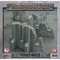 Battlefield in a Box: Ruined Walls