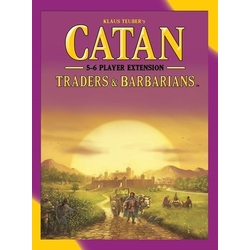 Settlers of catan (5th ed): Traders & Barbarians 5-6 Player expansion (eng. regler)