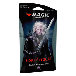 Magic The Gathering: Core 2020 (M20) Theme Booster Pack - Black