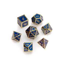 Gold Series: Blue 7-die set