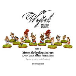 Fantasy Football Dwarves - Sister Sledgehammerers (Warlord Games)