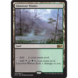 Magic löskort: M15: Llanowar Wastes
