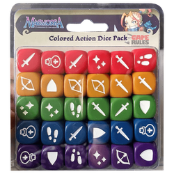 Masmorra: Dungeons of Arcadia - Colored Action Dice Pack