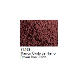 Vallejo Pigments: Brown Iron Oxide Pigment (30ml)