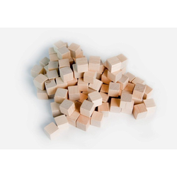 Mayday 8mm Wooden Cube Tokens Natural (100st)
