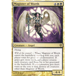 Magic löskort: Conspiracy: Magister of Worth (Release Foil)
