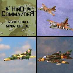 Hind Commander: Soviet/Russian Airplane pack 2