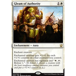 Magic löskort: Dragons of Tarkir: Gleam of Authority (foil)