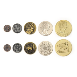 Metal Coins Egyptian (50 st)