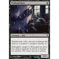Magic löskort: Conspiracy: Typhoid Rats