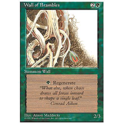 Magic löskort: 4th Edition: Wall of Brambles