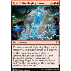 Magic löskort: Commander Anthology 2018: Rite of the Raging Storm