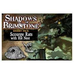 Shadows of Brimstone: Scourge Rats with Rat Nest