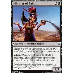 Magic löskort: Dragons of Tarkir: Minister of Pain (foil)