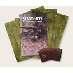 Sergeants Miniature Game: Hasty Positions: Normandy