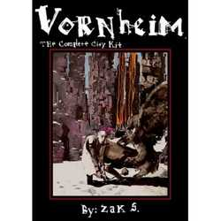 Lamentations of the Flame Princess: Vornheim - The complete city kit