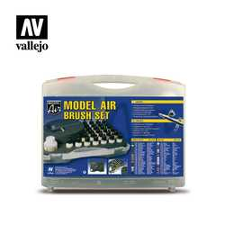 "Vallejo Case ""Model Air Basic Colors & Airbrush"""