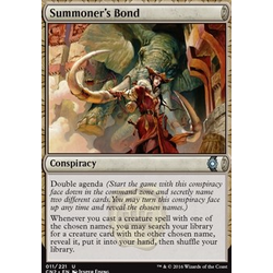 Magic löskort: Conspiracy: Take the Crown: Summoner's Bond
