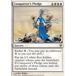 Magic löskort: Zendikar: Conqueror's Pledge
