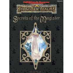 ADD 2nd ed: Forgotten Realms - Secrets of the Magister
