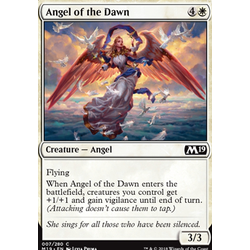 Magic löskort: Core Set 2019: Angel of the Dawn