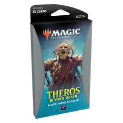 Magic The Gathering: Theros Beyond Death Theme Booster Pack - Black
