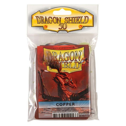 Dragon Shield Sleeves - Standard Copper (50 ct. in bag)