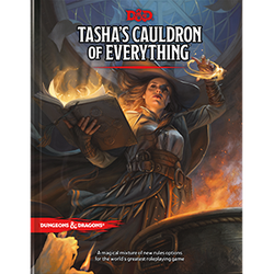 D&D 5.0: Tasha's Cauldron of Everything (standard cover)