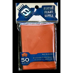FFG Standard Sleeves Red 64x88 mm