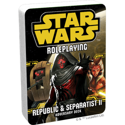 Star Wars: Age of Rebellion / Edge of the Empire: Republic and Separatist II