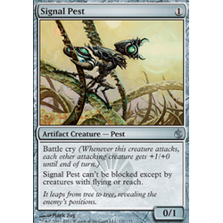 Magic löskort: Mirrodin Besieged: Signal Pest