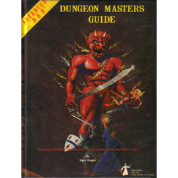 D&D: Dungeon Masters Guide (TSR, 1st Edition, 1979)