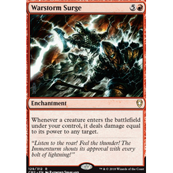Magic löskort: Commander Anthology 2018: Warstorm Surge