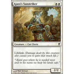 Magic löskort: Conspiracy: Ajani's Sunstriker