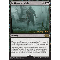 Magic löskort: M15: In Garruk's Wake (Prereleasefoil)