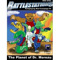 Battlestations: Planet of Dr Moreau Expansion