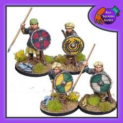 Shieldmaiden Hearthguard (with Spears)