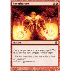 Magic Löskort: Premium Deck - Fire and Lightning: Reverberate (Foil)