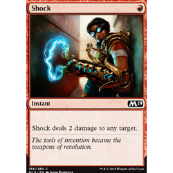 Magic löskort: Core Set 2019: Shock