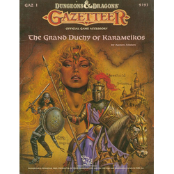 D&D Gazetteer: GAZ1, The Grand Duchy of Karameikos (1987)