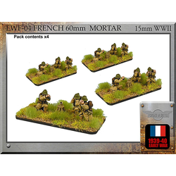 French 60mm Mortar