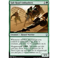 Magic löskort: Dragons of Tarkir: Salt Road Ambushers (foil)