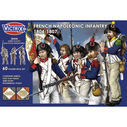 Victrix 28mm: French Napoleonic Infantry 1804-1807