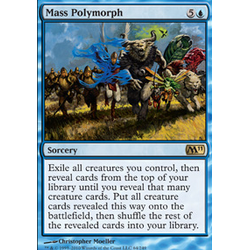 Magic löskort: Core Set 2011 (M11): Mass Polymorph