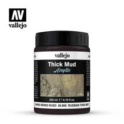 Vallejo Weathering Effects: Russian Thick Mud (200 ml)