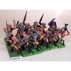 Dark Elf Witch Elves (Metall, 18st)