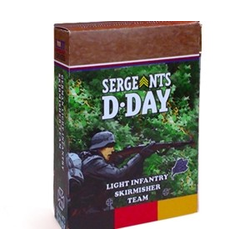 Sergeants D-Day: German Light Infantry Skirmisher Section