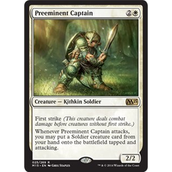 Magic löskort: M15: Preeminent Captain