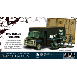 Batman Miniature Game: Gotham Police Van