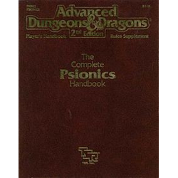 ADD 2nd ed: The Complete Psionics Handbook (begagnad)